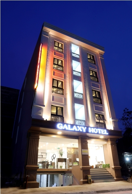 Over View Galaxy Hotel Thai Nguyen